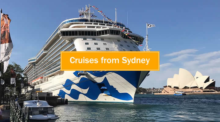 Cruises from Sydney