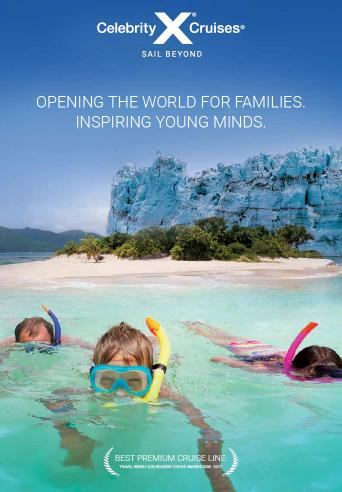 download Celebrity Cruises brochure: 2018-2019 Family Brochure (AU)