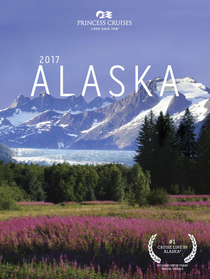 Princess brochure - Alaska 2017