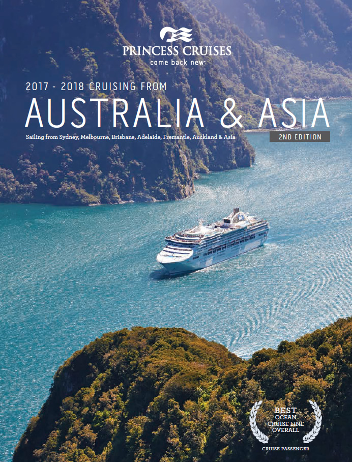 Princess brochure - Australia & Asia 2016-2018 (2nd Edition)