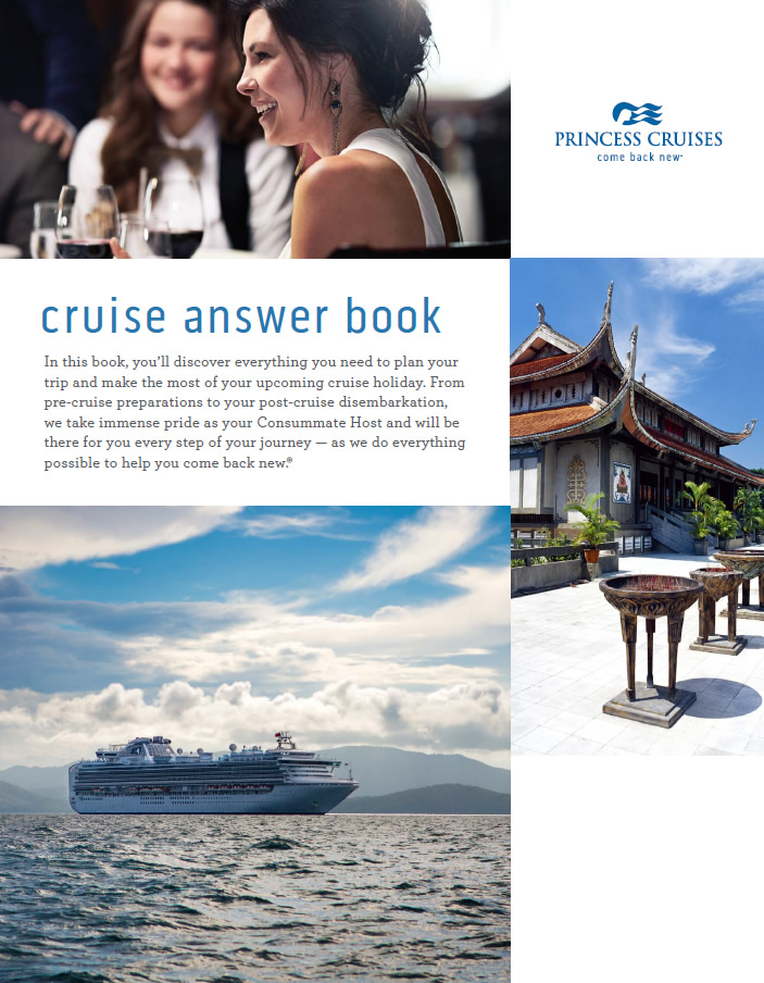 Princess brochure - Cruise Answer Book