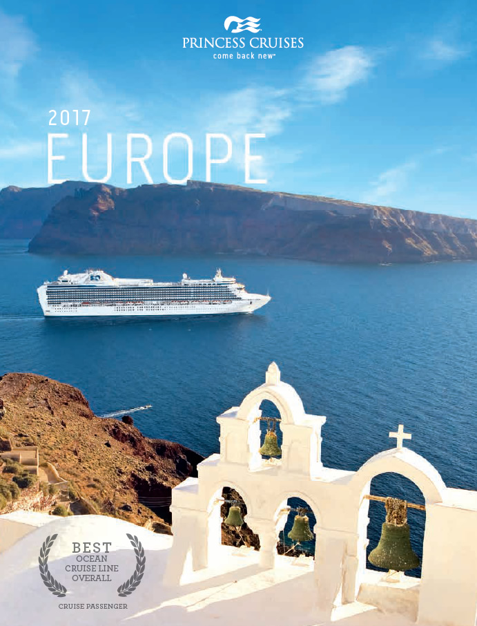 Princess brochure - Europe 2017