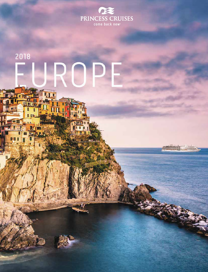 Princess brochure - Europe 2018