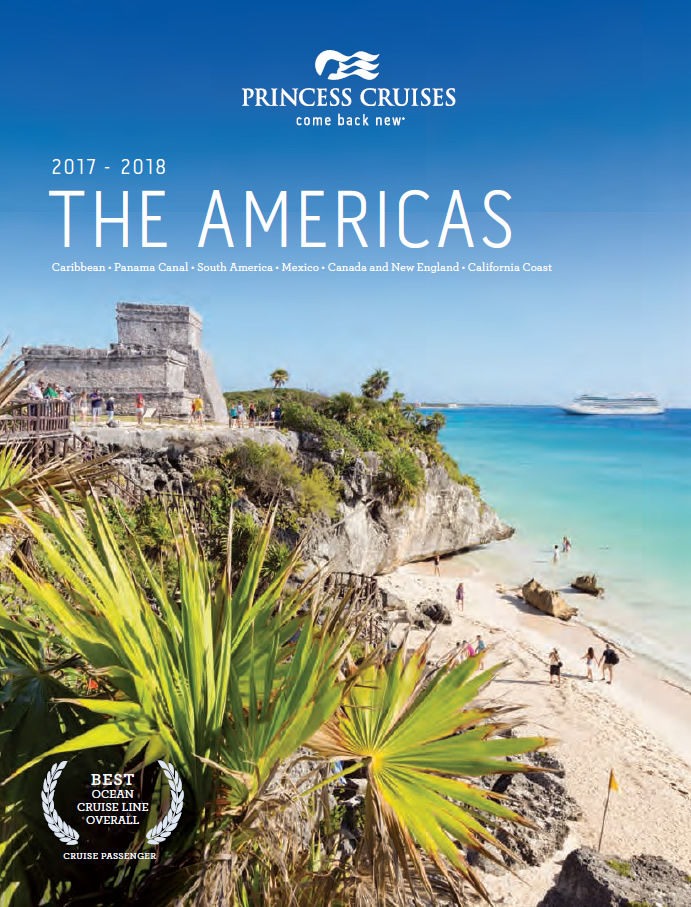 Princess brochure - Americas 2017-18