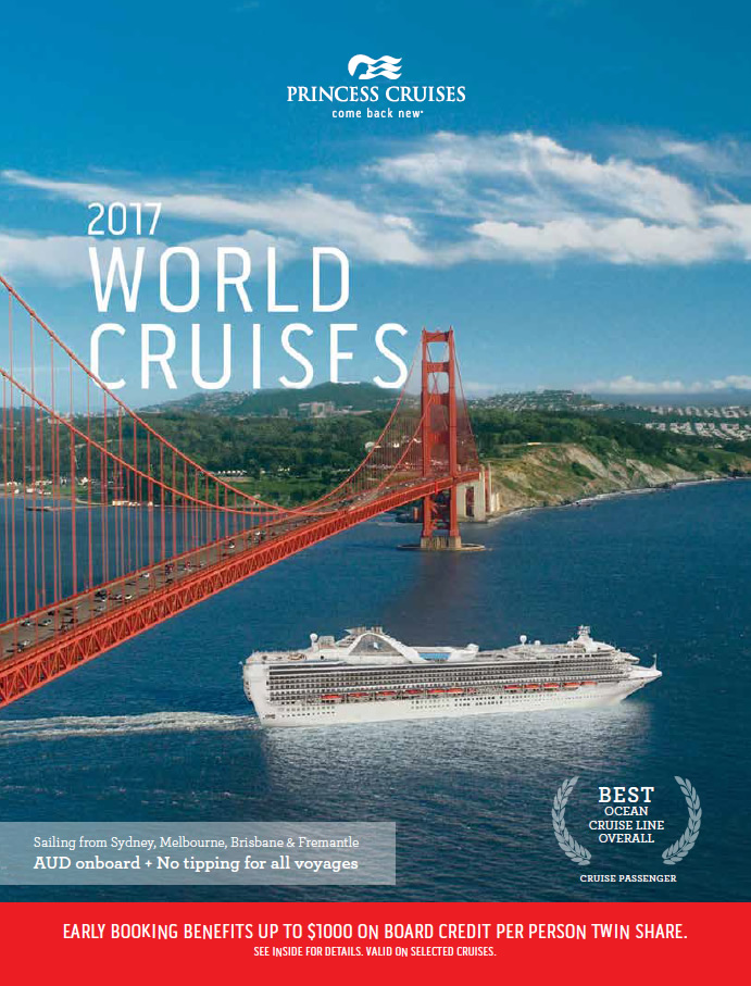 Princess brochure - World Cruises 2017