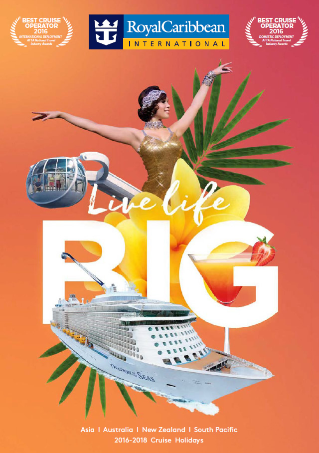 Royal Caribbean Australia cruises brochure