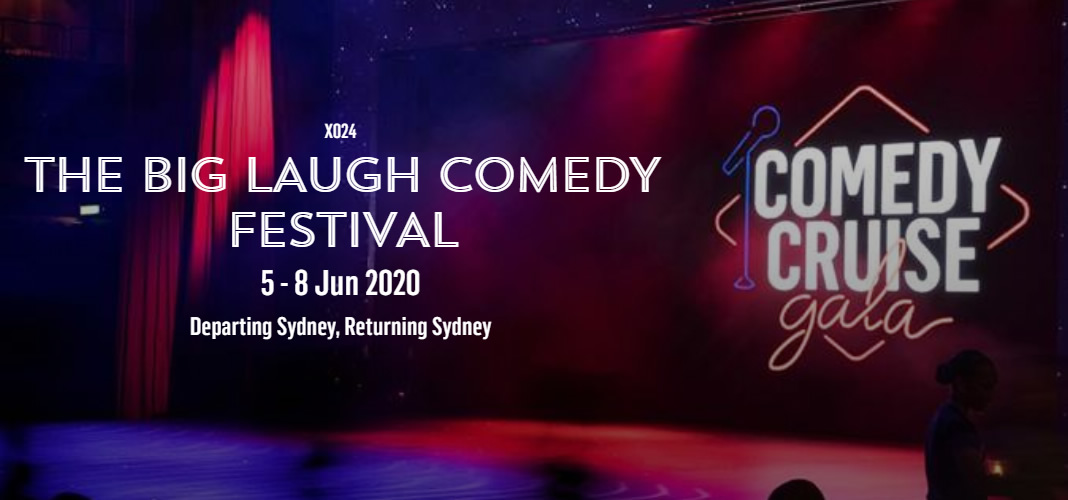 P&O Big Laugh comedy cruise - departing Sydney June 2020