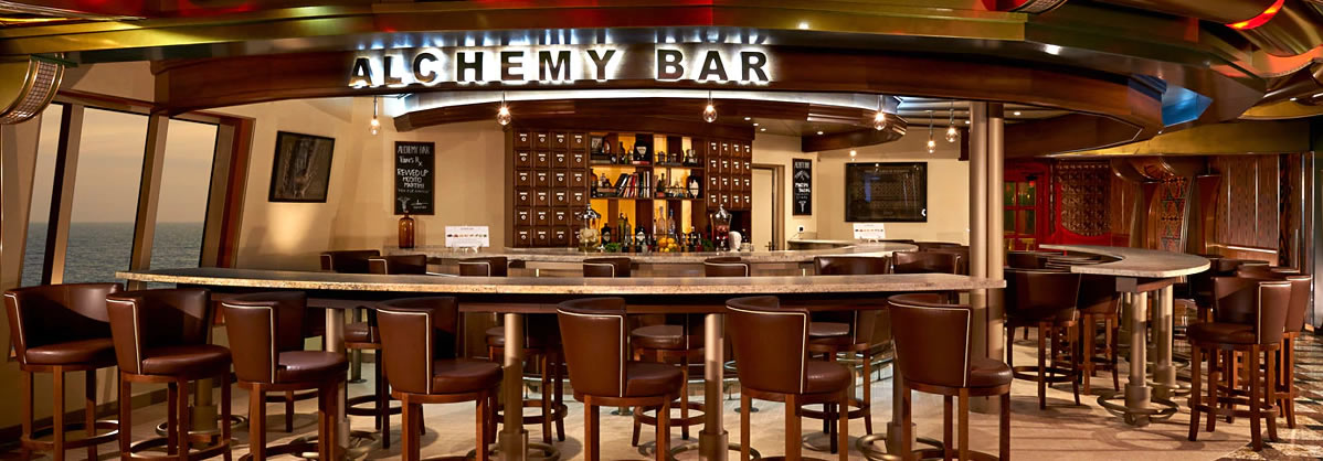 Carnival Spirit - Alchemy Bar