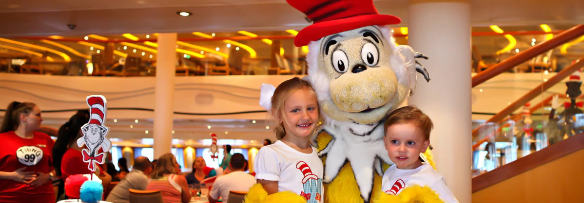 Carnival Splendor - Green Eggs and Ham Breakfast