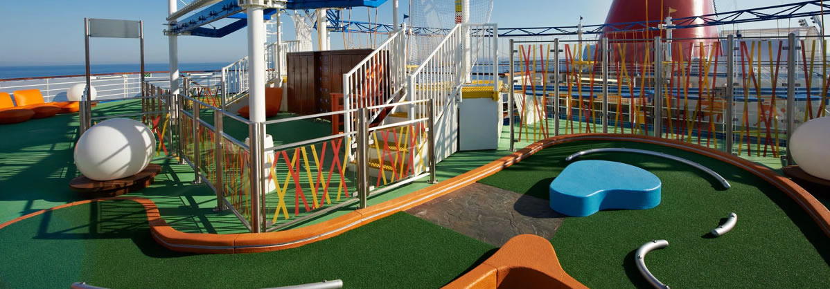 Carnival Splendor  - Mini-Golf