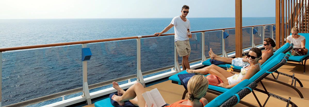 Carnival Splendor - Serenity Adults-Only Retreat