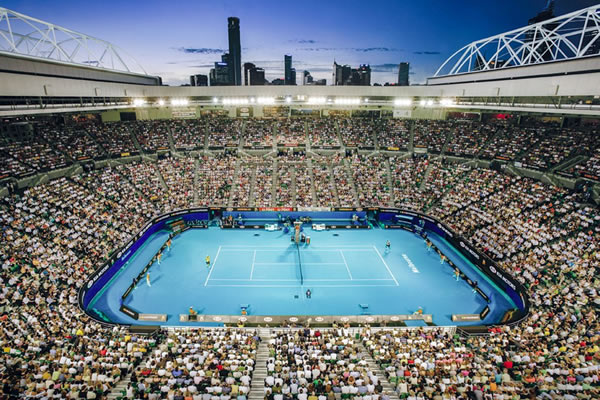 Australian Open Tennis cruises