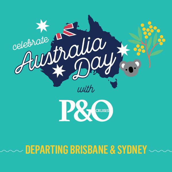 P&O Australia Day cruises