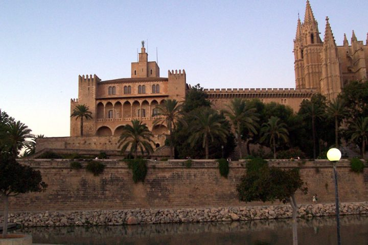 Spain - Palma De Mallorca - Royal Palace of La Almudaina