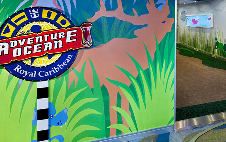 Adventure Ocean kids club onboard Royal Caribbean cruise ships from Australia