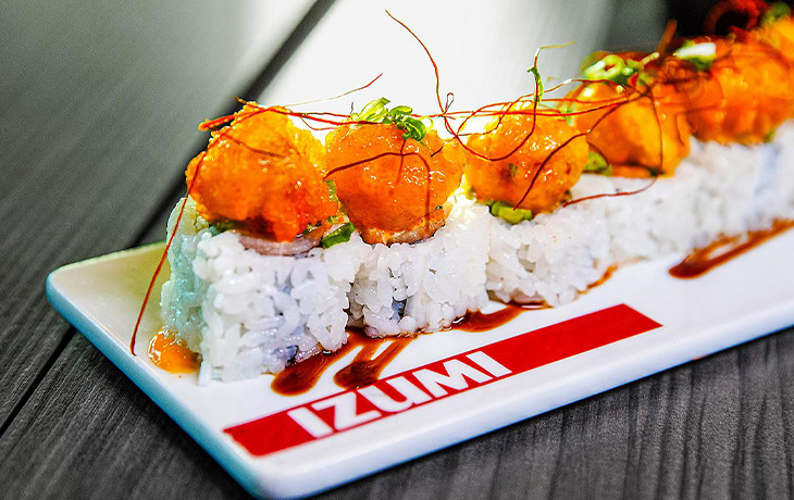 Royal Caribbean - Izumi Japanese restaurant