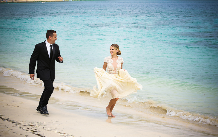 getting married at sea with Royal Caribbean